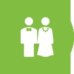 Wedding, anniversary and engagement